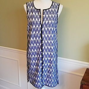 J. Crew Ikat Shift Dress